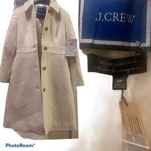 J-Crew Petite classic lady day coat